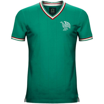 Clothing short-sleeved t-shirts Vintage Football Vintage Mexico Home Soccer Jersey Green