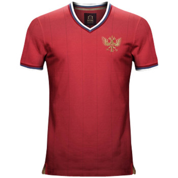 Clothing short-sleeved t-shirts Vintage Football Vintage Russia Home Soccer Jersey Red