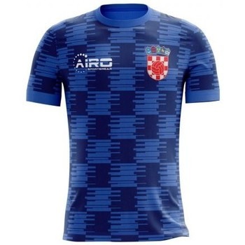 Clothing short-sleeved t-shirts Airo Sportswear 2018-19 Croatia Airo Concept Away Shirt (Modric 10) Navy