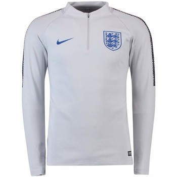 Clothing sweaters Nike 2018-2019 England Training Drill Top - Kids Grey