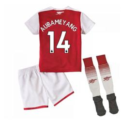 Clothing Children Sets & Outfits Puma 2017-18 Arsenal Home Mini Kit (Aubameyang 14) Red