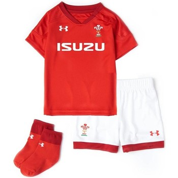 Clothing Children Sets & Outfits Under Armour 2018-2019 Wales Rugby Home WRU Infant Kit Red