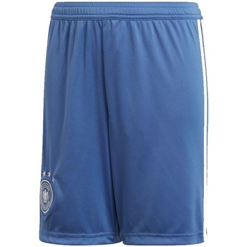 Clothing Shorts / Bermudas adidas Originals 2018-2019 Germany Home Goalkeeper Shorts (Trace Royal) - Kids Blue