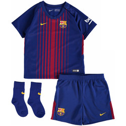 Clothing Children Sets & Outfits Nike 2017-18 Barcelona Home Baby Kit (Rivaldo 10) Red