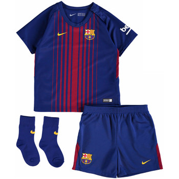 Clothing Children Sets & Outfits Nike 2017-18 Barcelona Home Baby Kit (Messi 10) Red
