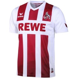 Clothing short-sleeved t-shirts Erima 2017-2018 FC Koln Home Football Shirt Red