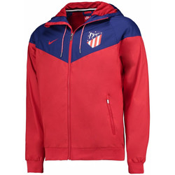 Clothing Macs Nike 2017-2018 Atletico Madrid Authentic Windrunner Jacket Red