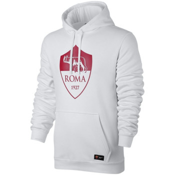 Clothing sweaters Nike 2017-2018 AS Roma Core Hooded Top White