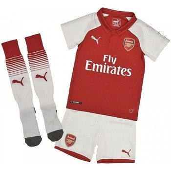 Clothing Children Sets & Outfits Puma 2017-18 Arsenal Home Mini Kit (Giroud 12) Red