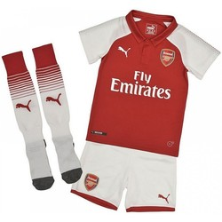Clothing Children Sets & Outfits Puma 2017-18 Arsenal Home Mini Kit (Bellerin 24) Red