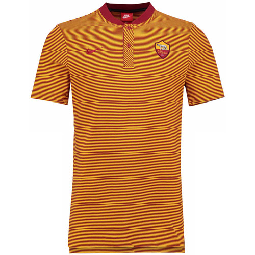 2017 Nike team Shirt Grand As Roma Authentic Crimson 2018 Orange Polo Slam HTTaWF