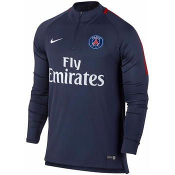 Clothing sweaters Nike 2017-2018 PSG Drill Top (Obsidian) Navy