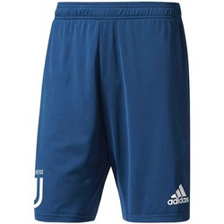 Clothing Children Shorts / Bermudas adidas Originals 2017-2018 Juventus Training Shorts - Kids Blue