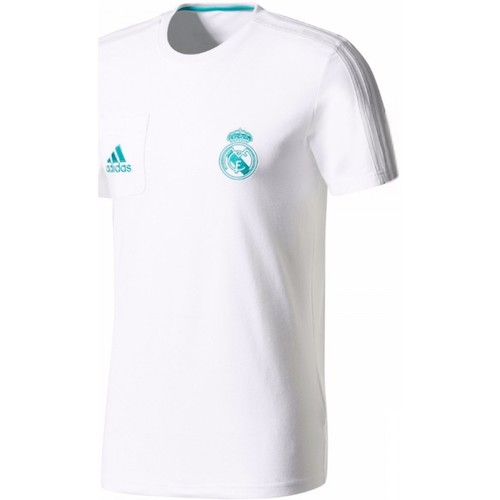 Tee 2017 Real White Training Madrid 2018 Adidas Originals q1vwYnaYU