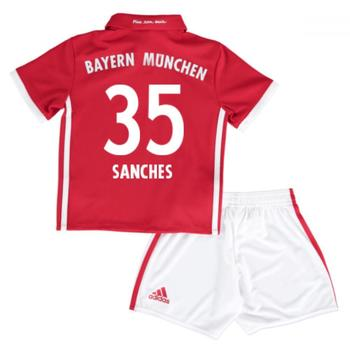 Clothing Children Sets & Outfits adidas Originals 2016-17 Bayern Munich Home Mini Kit (Sanches 35) Red