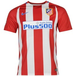 Clothing short-sleeved t-shirts Nike 2016-17 Atletico Madrid Home Shirt (Griezmann 7) - Kids Red