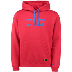 Clothing sweaters Nike 2016-2017 Barcelona Core Hooded Top Red