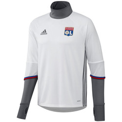 Clothing Track tops adidas Originals 2016-2017 Olympique Lyon Training Top White