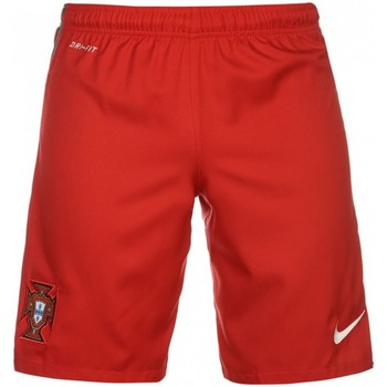 Clothing Children Shorts / Bermudas Nike 2016-2017 Portugal Home Shorts - Kids Red