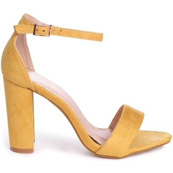 Shoes Women Sandals Linzi NELLY Yellow Suede