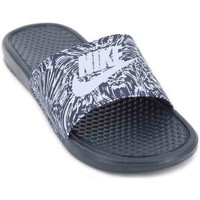 Shoes Men Sandals Nike Benassi JDI Print 631261 Men's Flip Flops black