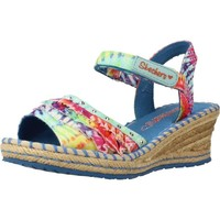 Shoes Girl Sandals Skechers TIKIS RUFFLE UPS Multicolor