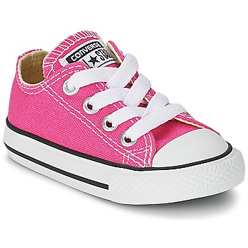 Shoes Girl Low top trainers Converse Chuck Taylor All Star SEASON OX Pink