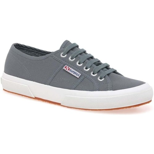 Shoes Women Low top trainers Superga Cotu Classic Womens Lace Up Canvas Shoes grey