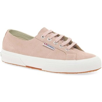 Shoes Women Low top trainers Superga Cotu Suede Womens Casual Trainers pink