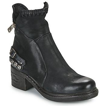 Shoes Women Mid boots Airstep / A.S.98 NOVA 17 Black