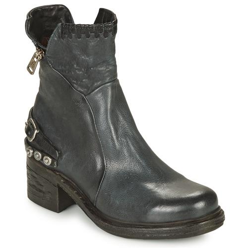 Shoes Women Mid boots Airstep / A.S.98 NOVA 17 Blue / Black