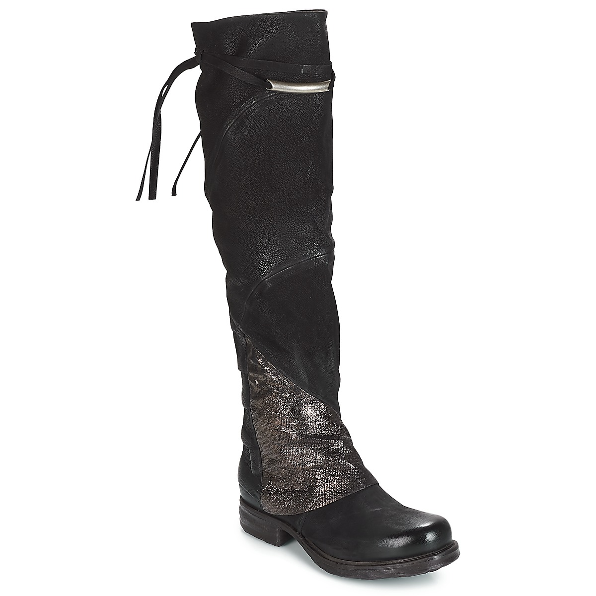 airstep / a.s.98  saint ec patch  women's high boots in black