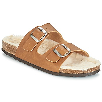 Shoes Women Mules Casual Attitude JODRI Camel