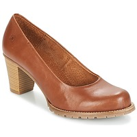 Shoes Women Heels Casual Attitude HARCHE Brown