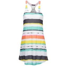 Clothing Women Short Dresses Little Marcel ROSINA White / Multi