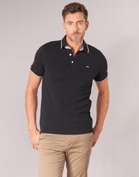 Clothing Men short-sleeved polo shirts Jack & Jones JJEPAULOS Black