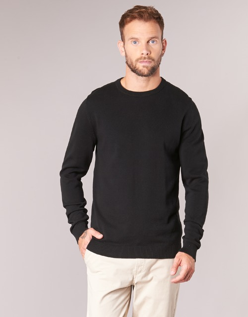 Clothing Men jumpers Jack & Jones JJEBASIC Black