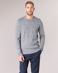 Clothing Men jumpers Jack & Jones JJEBASIC Blue