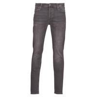Clothing Men slim jeans Jack & Jones JJIGLENN Grey