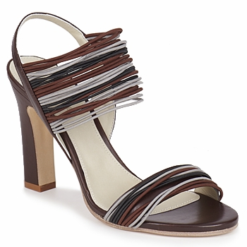 Shoes Women Sandals Jil Sander JS16121 Brown