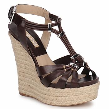 Shoes Women Sandals Michael Kors IDALIA Brown