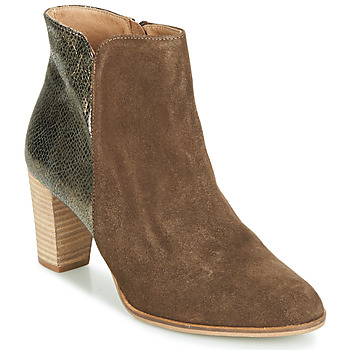 Shoes Women Mid boots André LEONORA 3 Taupe