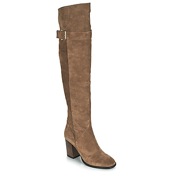 Shoes Women High boots André CAMERON Camel