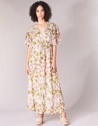 Clothing Women Long Dresses Derhy ALEXANDRIN Ecru