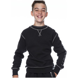 Clothing Boy jumpers Flow Society Pullover THEO Black Boy Autumn/Winter Collection Black