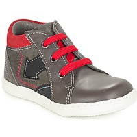 Shoes Boy Mid boots André LA FLECHE Grey