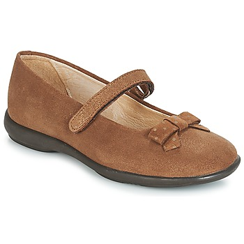 Shoes Girl Flat shoes André LES SOURIS Camel