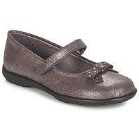 Shoes Girl Flat shoes André LES SOURIS Grey