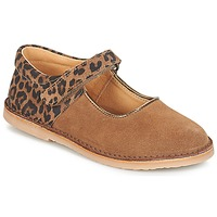 Shoes Girl Flat shoes André AURORA Camel