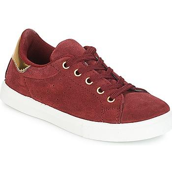 Shoes Girl Low top trainers André TALIA Bordeaux